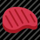 meat, fresh, pork, ingredient, beef, food, steak