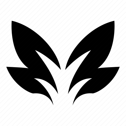 bird, brush, feather, wing, wings icon