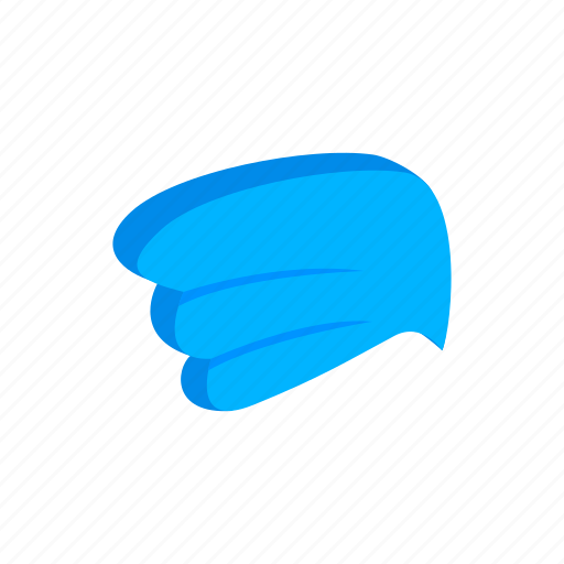 design, element, isolated, isometric, logo, logotype, wing icon