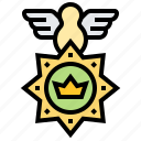 army, badge, force, label, rank icon