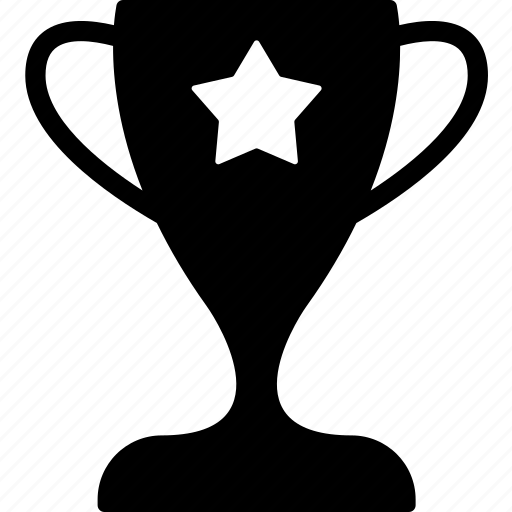 award, champion, cup, first position, star, tropy, winner icon