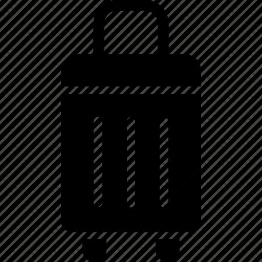 baggage, hotel, transport, travel, trolley icon
