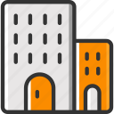 building, holiday, hotel, vacation icon