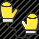 fashion, glove, mitten, mittens, protection
