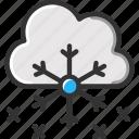 cloud, snow, snowflake, snowflakes, winter icon