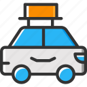 car, public transport, taxi, transport, vehicle icon