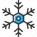 cold, snow, snowflakes, weather, winter icon