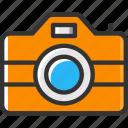 camera, photo camera, photograph, picture, technology icon
