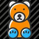 bear, gift, teddy bear, toy, toys