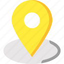 location pointer, map location, map pointer, pin, placeholder icon