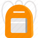 backpack, bags, luggage, travel icon