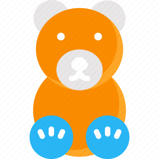 bear, gift, teddy bear, toy, toys icon