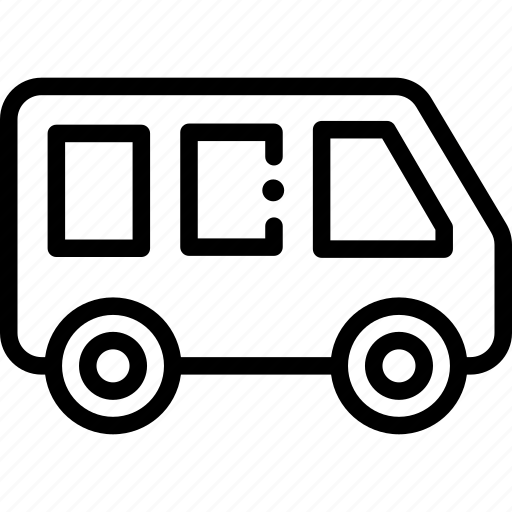 bus, public transport, school bus, transport, transportation icon