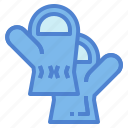 glove, hands, mittens, protection icon