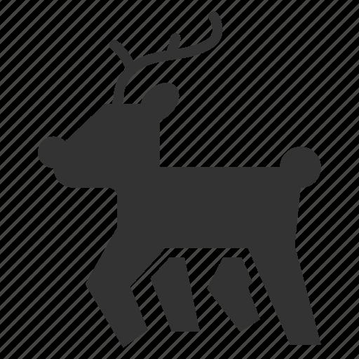 Animal, deer, winter icon - Download on Iconfinder