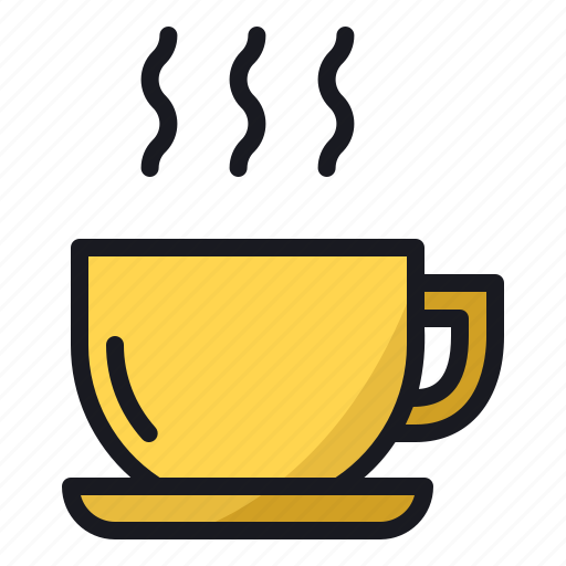 breakfast, coffee, cold, cup, drink, hot, winter icon