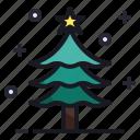 christmas, new year, pine, season, snow, tree, winter