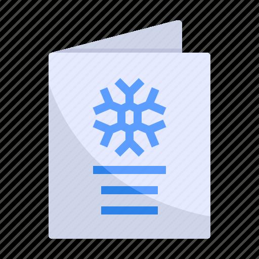 card, christmas, invitation, season, snow, snowflake, winter icon