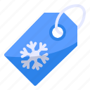 discount, price tag, sale, shop, shopping, snowflake, winter