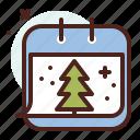calendar, season, cold, winter, snow