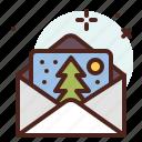 letter, season, cold, winter, snow