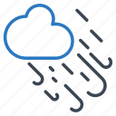 cloud, snow, weather, windy, winter icon