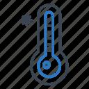 temperature, thermometer, winter icon