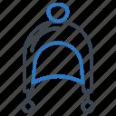 cap, hat, winter icon