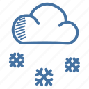 christmas, cloud, new, snow, snowfall, winter, year