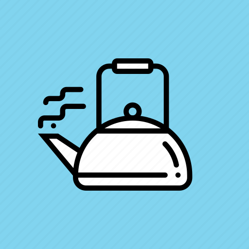 drink, hot, kettle, pot, tea, utensil, winter icon