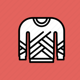 christmas, clothing, cold, knitted, sweater, winter, wool icon