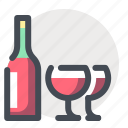alcohol, celebration, glasses, holiday, mulled wine, vacation, wine icon