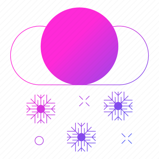 christmas, cloud, holiday, snow, winter icon