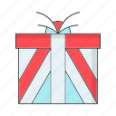 birthday, box, cold, gift, winter