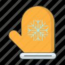 clothes, cold, glove, season, snowflake, winter