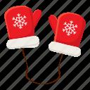 cartoon, cloth, fashion, hand, mittens, season, snow