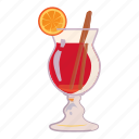 alcohol, cartoon, cocktail, drink, fruit, glass, lemon icon