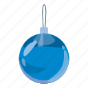 ball, cartoon, celebration, christmas, decoration, holiday, xmas icon