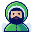 avatar, eskimo, male, man, user icon