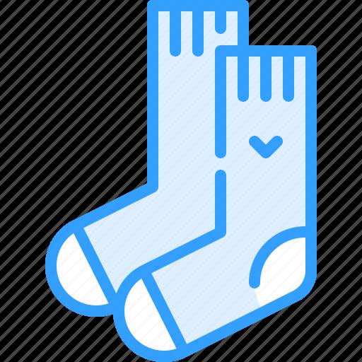 socks, winter icon