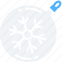 bauble, christmas, december, holidays, winter icon