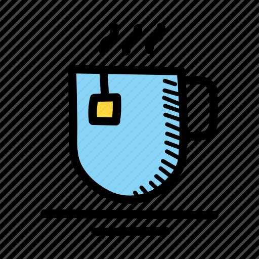 beverage, coffee, cup, drink, hot, tea icon