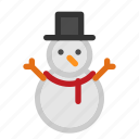 christmas, clown, ice, seasons, snow, snowman, winter icon