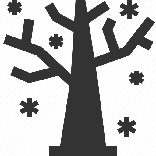 forest, season, tree, winter icon