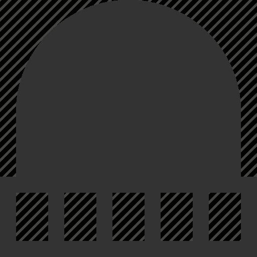 beanie, hat, warm, winter icon