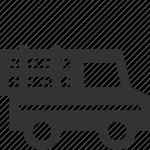 log, lumberjack, truck, vehicle icon