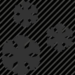 snow, snowflakes, weather, winter icon
