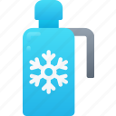 december, flask, holidays, hot drink, thermos, winter