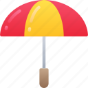 brolly, december, holidays, umbrella, winter icon