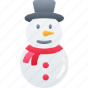 christmas, december, holidays, snowman, winter